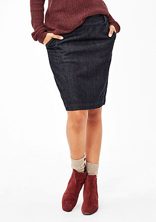Denim pencil skirt from s.Oliver