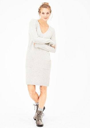 Sleek knitted dress from s.Oliver