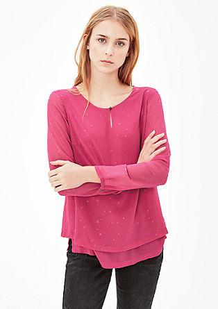Bluza s potiskom zvezd