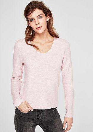 Pullover mit metallischem Effekt