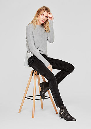 Shape Slim: Jeans with studs from s.Oliver