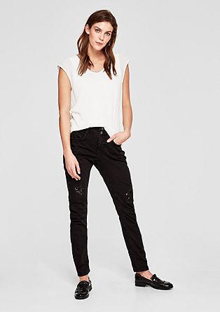 Shape Slim: Jeans mit Pailletten