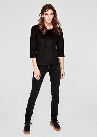 Shape slim: dark jeans