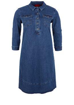 Jeanskleid aus Lyocell-Denim kaufen   s.Oliver Shop 57bc2fea4a