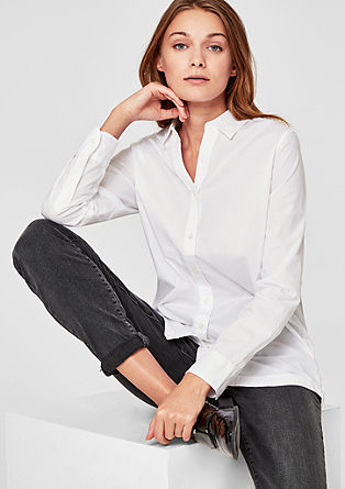 Classic cotton blouse from s.Oliver