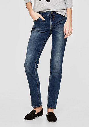 Shape Slim: Destroyed-Jeans