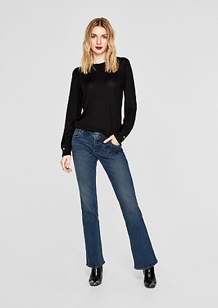 Smart Bootcut: Stretch-Denim