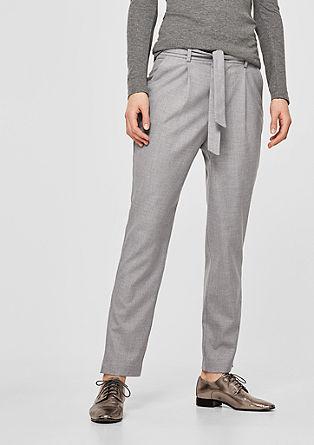 Smart Chino: pantalon en toile décontracté de s.Oliver