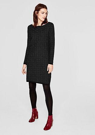 Kleid im Pünktchen-Design