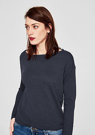 Casual long sleeve top from s.Oliver