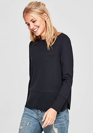 Casual jersey sweatshirt from s.Oliver