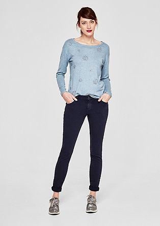 Shape Superskinny: jednoduché keprové kalhoty