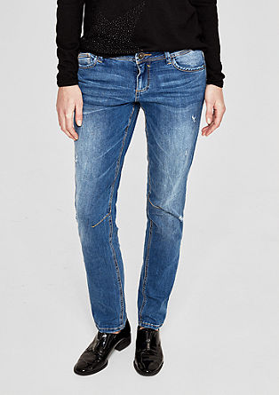 Shape Slim: Bluejeans im Used-Look