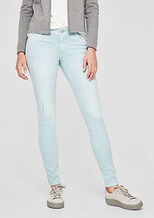 Shape Superskinny: pantalon en twill stretch de s.Oliver