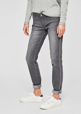 Shape slim: jeans met glitters