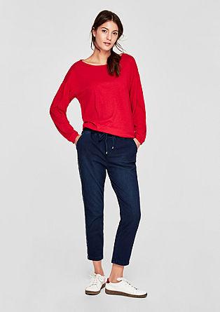 Jogging Pants in Jeans-Optik