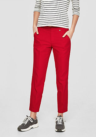 Shape Ankle: Stretch chinos from s.Oliver