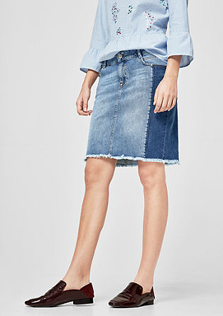 Jeans-Mini mit Bodycon-Effekt