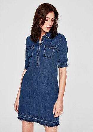 Denim dress in a vintage look from s.Oliver