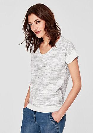 Shirt in Strick-Optik