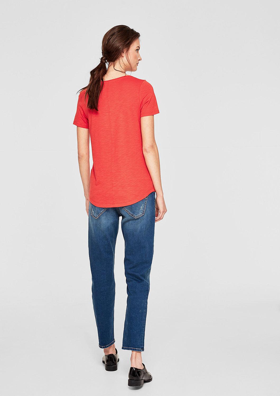 s.Oliver - Slub Yarn-Shirt mit Teilungsnähten - 3