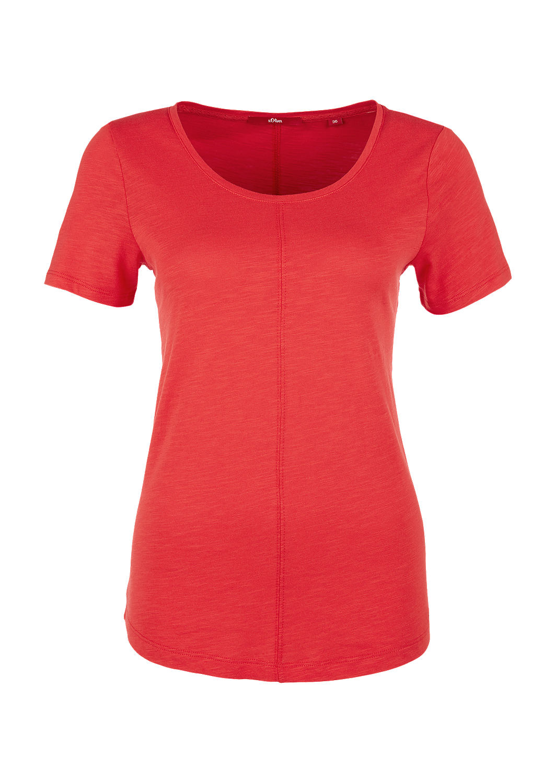 s.Oliver - Slub Yarn-Shirt mit Teilungsnähten - 4