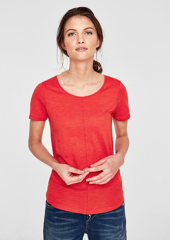 s.Oliver - Slub Yarn-Shirt mit Teilungsnähten - 1