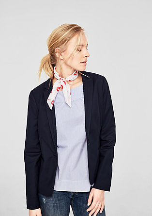 Elegant double-faced blazer from s.Oliver