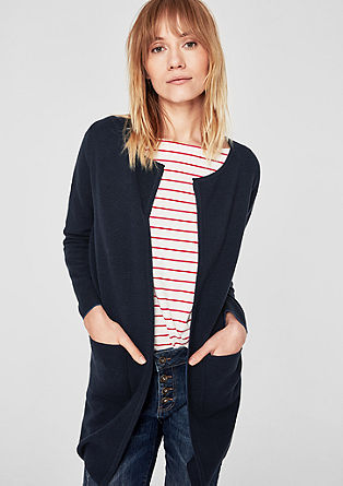 Textured long cardigan from s.Oliver