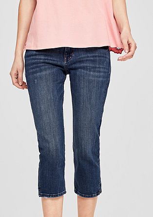 Smart Capri: 5-Pocket-Jeans