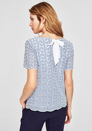 Broderie anglaise blouse  from s.Oliver