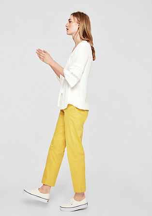 Crêpe blouse with wide sleeves from s.Oliver