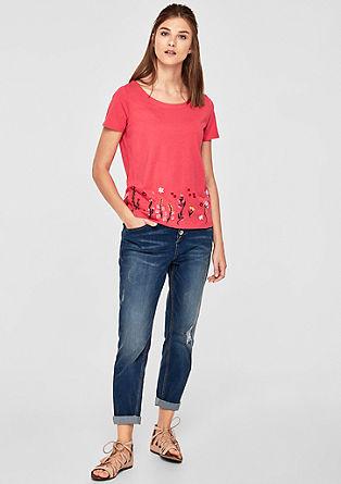 Shirt mit Embroidery-Artwork
