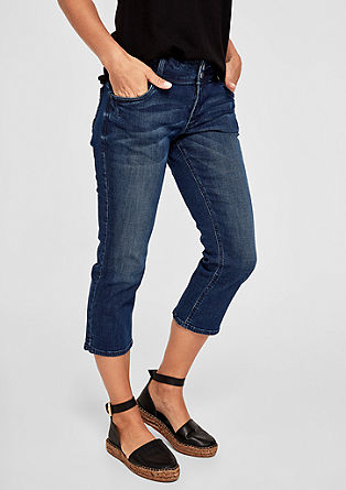 Smart capri: stretchjeans