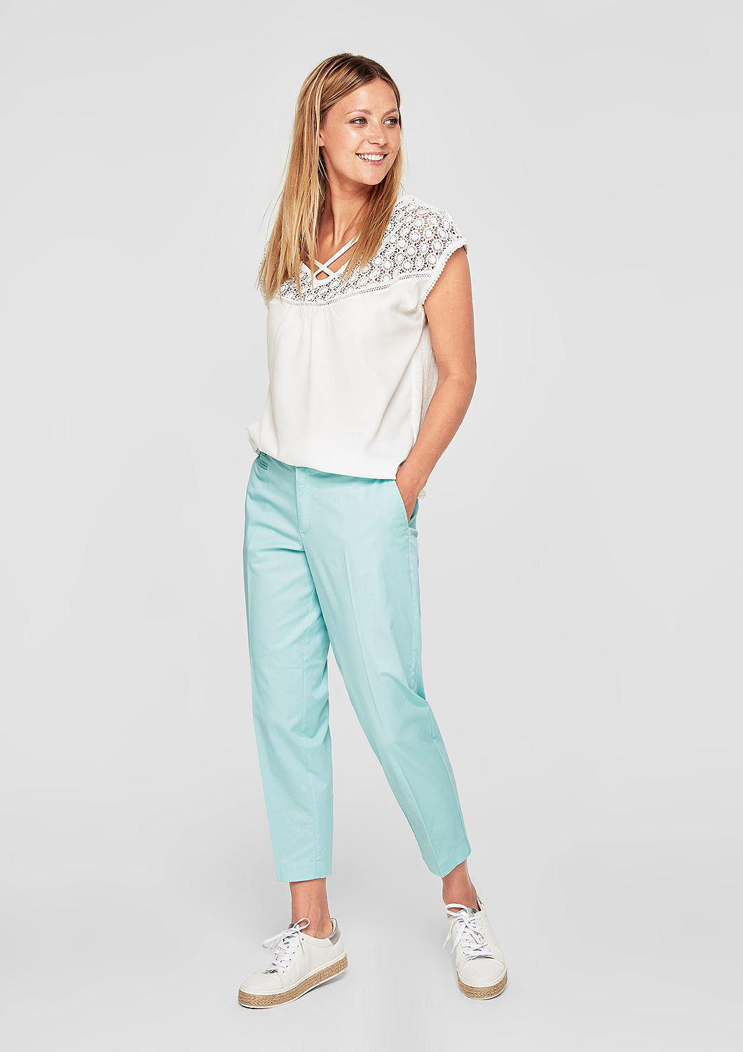 s.Oliver - Shape Ankle: Leichte Chino - 2