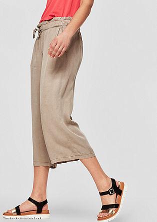 Culotte: luchtige twill broek