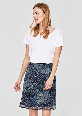 Mille-fleurs skirt with an elasticated waistband from s.Oliver