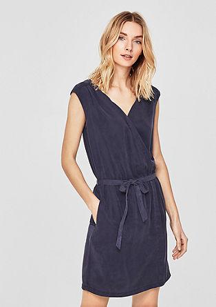 Krátké šaty z lyocellu
