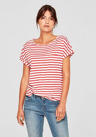 Ležérní pruhované tričko