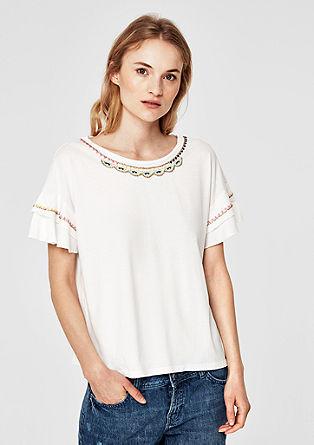 Zdobené oversize tričko