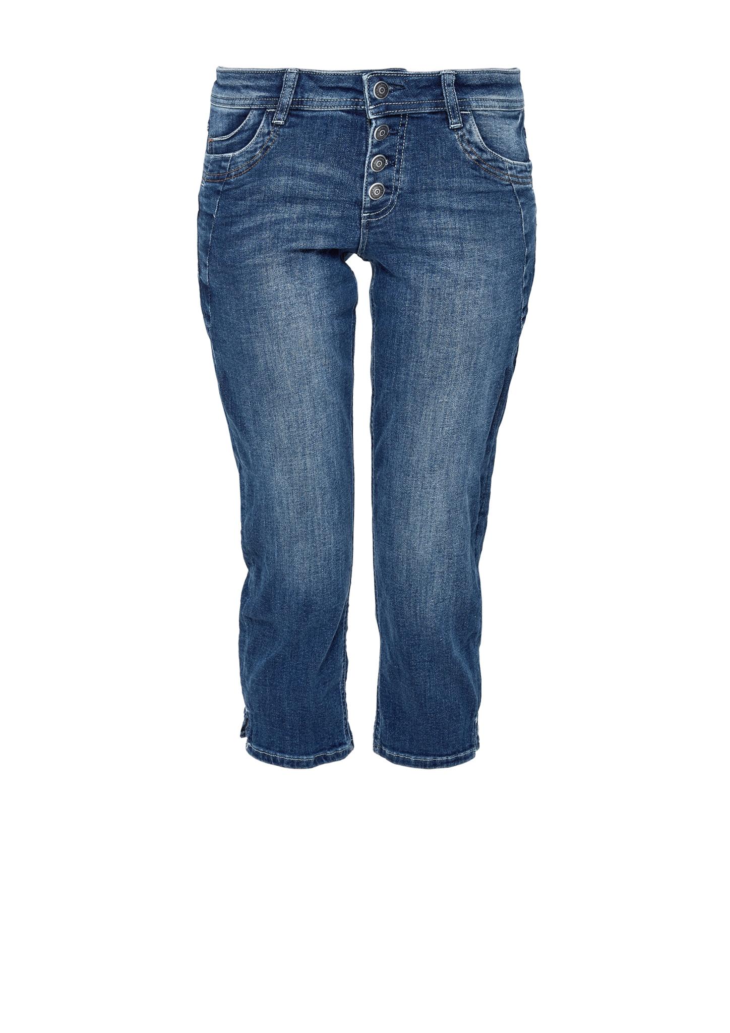 Capri-Jeans | Bekleidung > Jeans > Caprijeans | Blau | Obermaterial 72% baumwolle -  17% polyester -  9% modal -  2% elasthan| futter 50% baumwolle -  50% polyester | s.Oliver