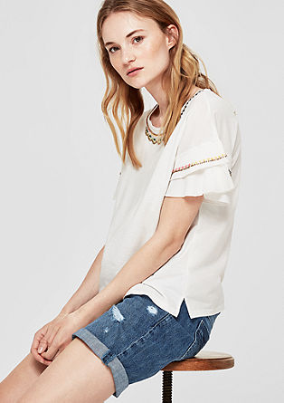 Smart Short: distressed Bermudas from s.Oliver