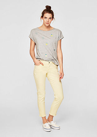 Shape Ankle: jeans with frayed hems from s.Oliver