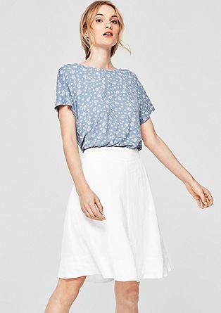 Flared linen skirt from s.Oliver