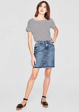 Denim skirt in a vintage look from s.Oliver