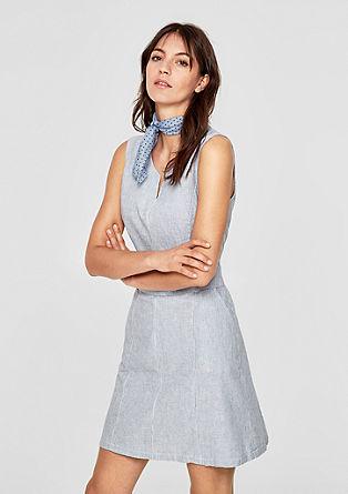 Linen blend summer dress from s.Oliver