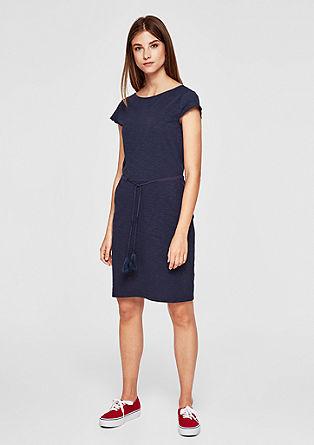 Kleid aus Slub Yarn-Jersey
