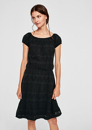 Summer dress with an openwork pattern from s.Oliver
