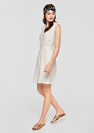 Simple linen dress from s.Oliver