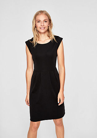 Fitted dress made of interlock jersey from s.Oliver